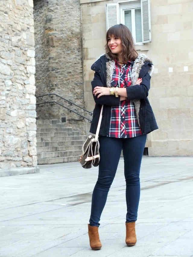 Outfit con Leggings Azul marino