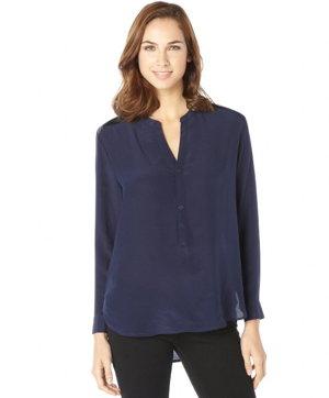 blusas azul marino