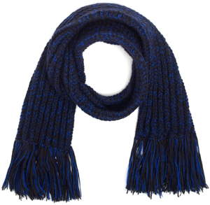 bufandas azul marino