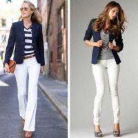 Cómo combinar una americana o Blazer de hombre o mujer azul marino