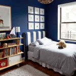 Ideas para Decorar una Habitación en color azul marino
