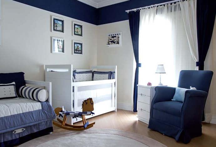 decorar habitacion en azul marino para bebe