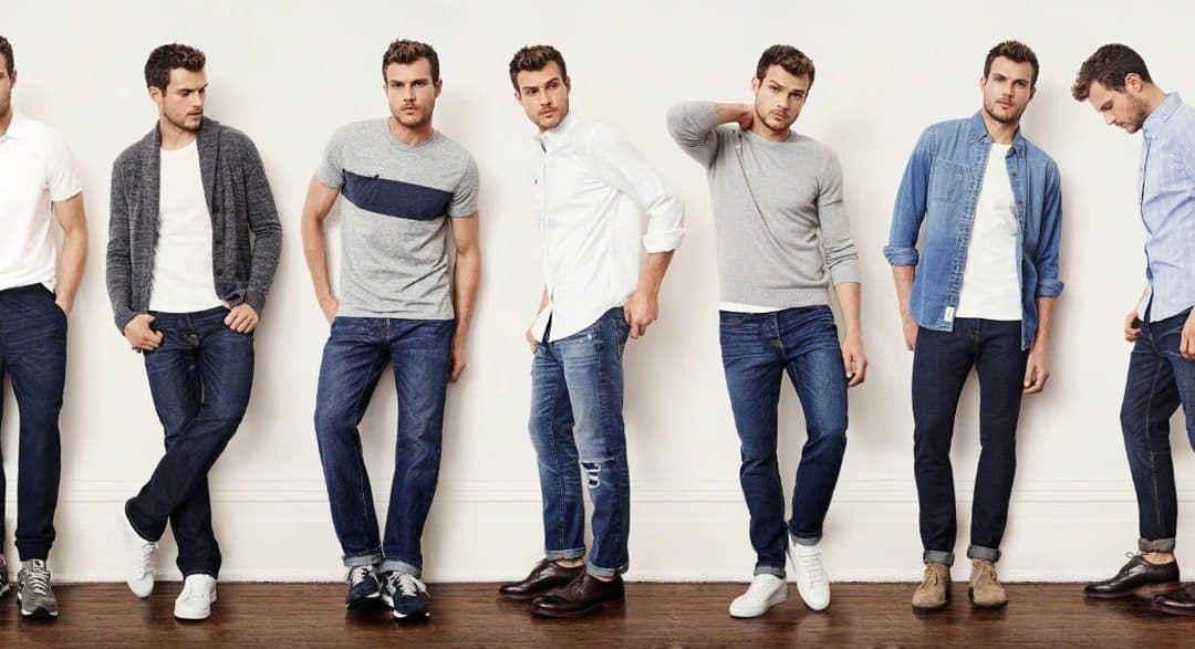 Como Combinar Unos Jeans Azul Marino Para Hombre Y Mujer
