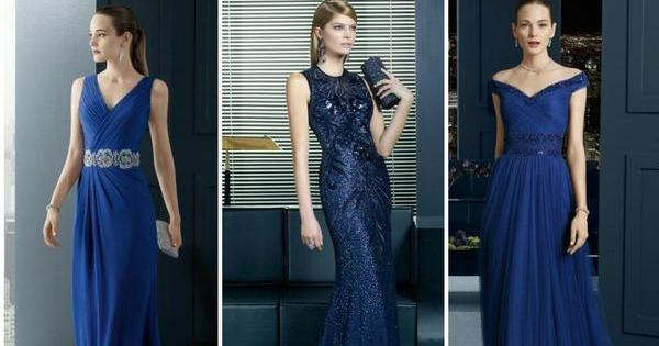 outfit para vestido azul marino boda