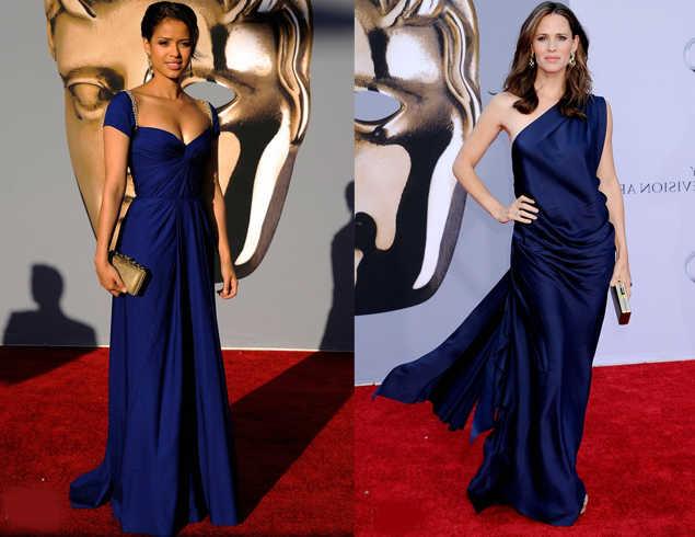 Combinaciones con vestidos azul marino