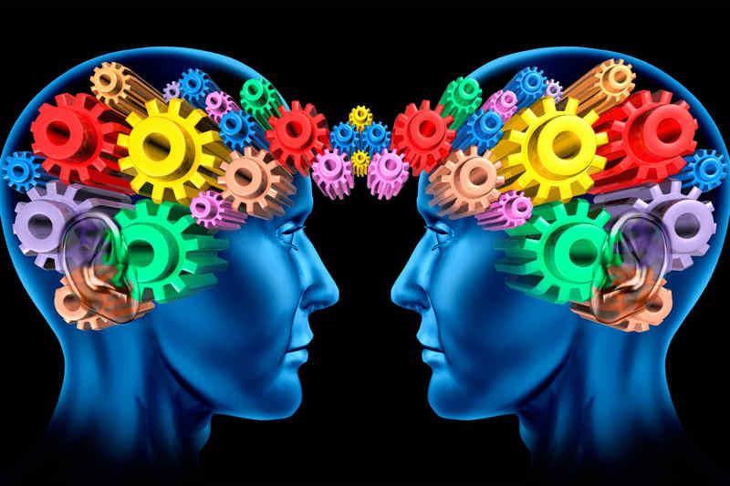 psicologia y azul marino